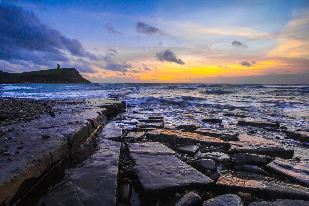 Ocean and beach landscape