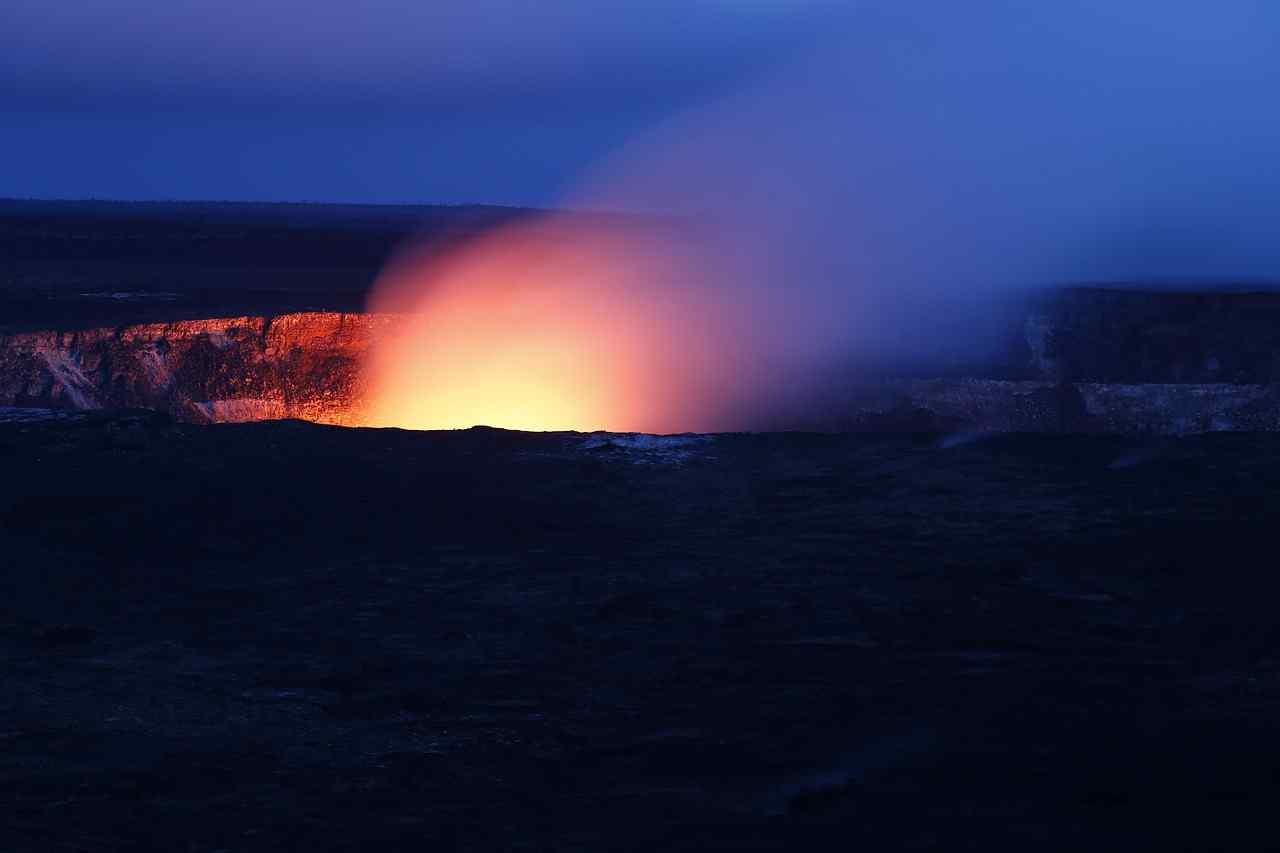 hawaii, volcano