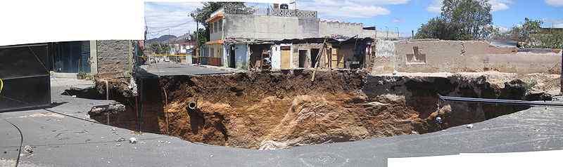 Guatemala City 2007 sinkhole, Guatemala