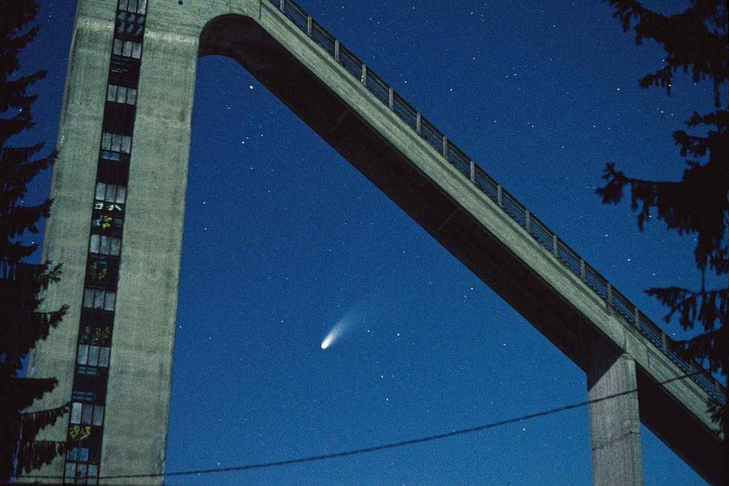 Hale- Bopp comet