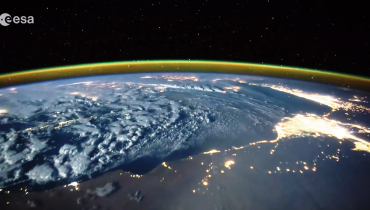 Lightning, What it looks like from Space