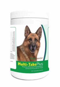 Healthy Breeds 1365-grmn-004 365 Count German Shepherd Multi-Tabs Plus Chewable Tablets, One Size