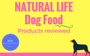 Natural life dog food