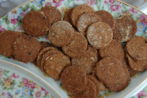 homemade dog biscuits example