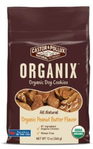 Castor & Pollux Organix chicken flavored cookies