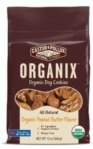 Castor & Pollux Organix chicken flavored cookies