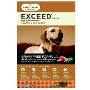 Exceed grain free dog food