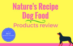 Natures recipe dog food