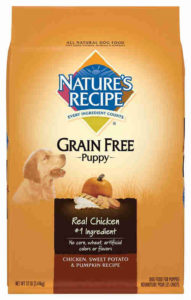 Natures recipe puppy food