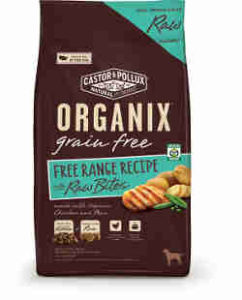 Organix free range recipe with raw bites