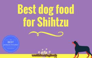 Best dog food for shihtzu