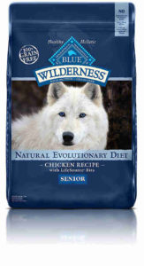 Blue Buffalo Wilderness High Protein Dry Senior Dog Food
