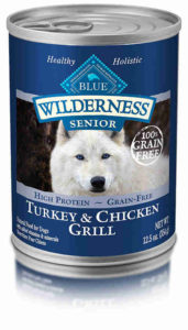 Blue Buffalo Wilderness High Protein Wet Senior Dog Food