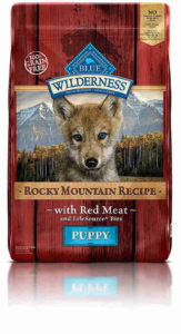 Blue Buffalo Wilderness Rocky Mountain Recipe Dry Puppy Food