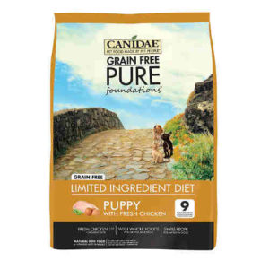 Canidae Grain Free PURE Foundations Dry Puppy Formula Dog Food