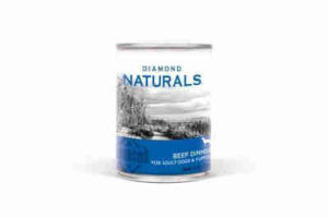Diamond Naturals Adult Dogs and Puppies Canned Food - Beef Dinner