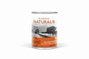 Diamond Naturals Adult Dogs and Puppies Canned Food - Chicken Dinner