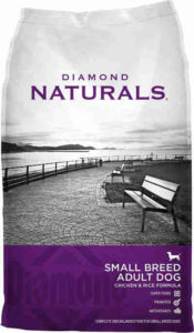 Diamond Naturals Dry Food for Adult Dogs Small Breed Chicken and Rice Formula