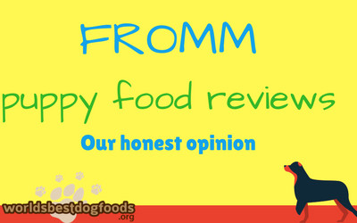 Fromm puppy food reviews