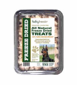 Healthy Breeds 5200-dobp-001 All Natural Freeze Dried Treats Doberman Pinscher Chicken Breast