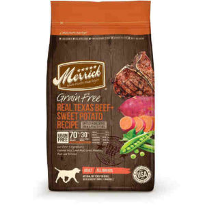 Merrick Grain-Free Dry Dog Food Texas Beef