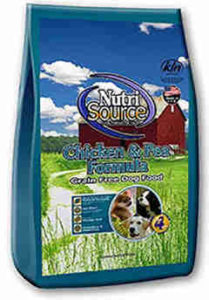 NutriSource Chicken & Pea Formula Grain Free Dog Food
