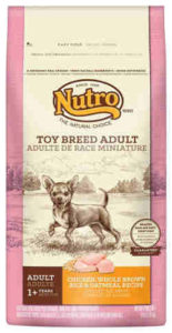 Nutro Toy Breed Adult Chicken, Brown Rice and Oatmeal