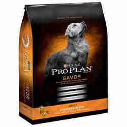 Purina Pro Plan Savor Adult Shredded Blend Chicken & Rice Formula Dog Food