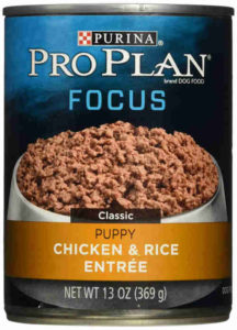 Purina Pro Plan Wet Dog Food, Focus, Puppy Chicken & Rice Entree Classic