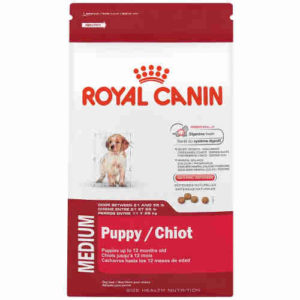 Royal Canin Puppy Dry Dog Food, Medium