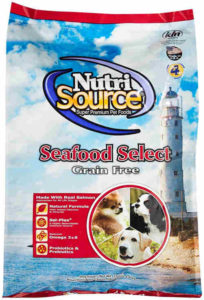 TUFFY'S PET FOOD 131754 Tuffy Dog NutriSource Select Grain Free Seafood Adult and Puppy Dog