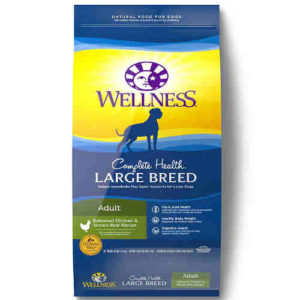 Wellness Complete Health Natural Dry Large Breed