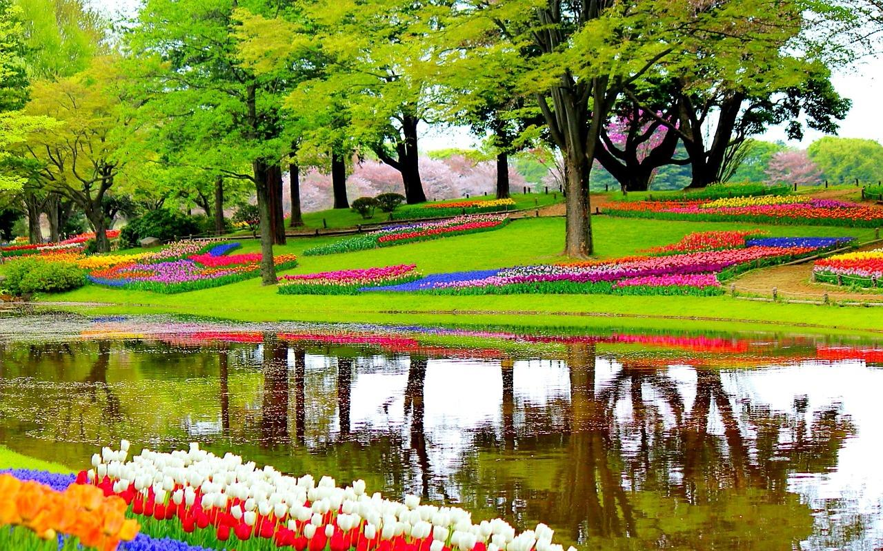 Top 10 most beautiful gardens in the world for Beauty garden