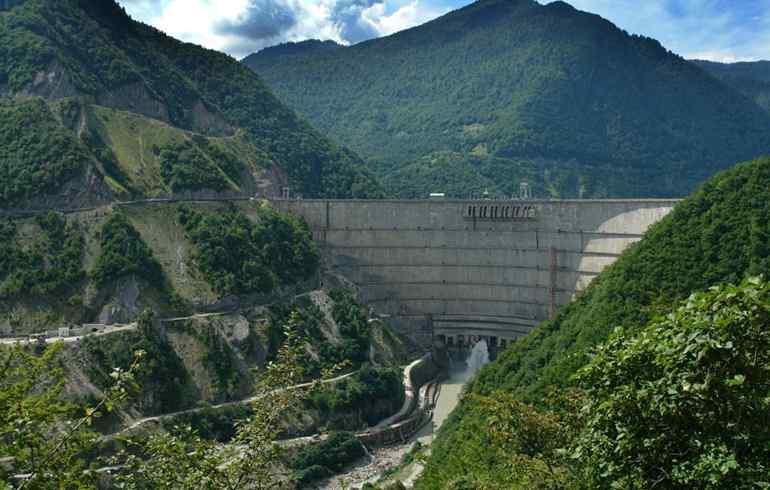 Enguri Dam, Georgia