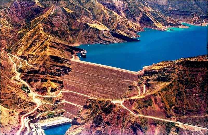 Nurek Dam, Tajikistan