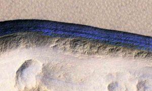 ice deposits on Mars