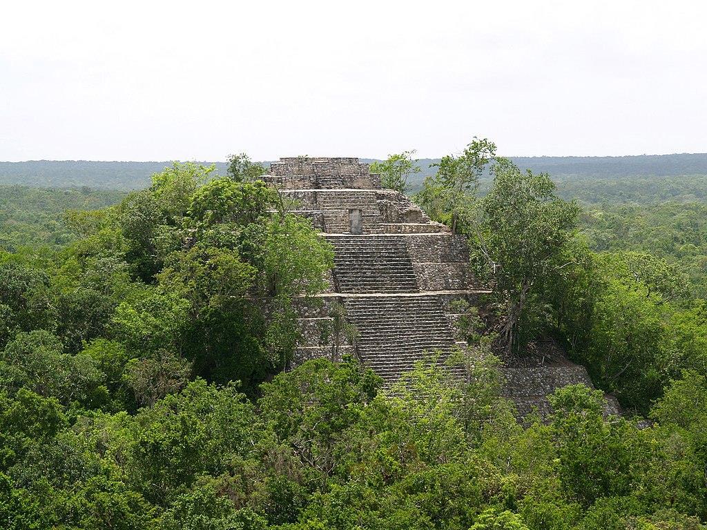 Ancient Mayan Temples