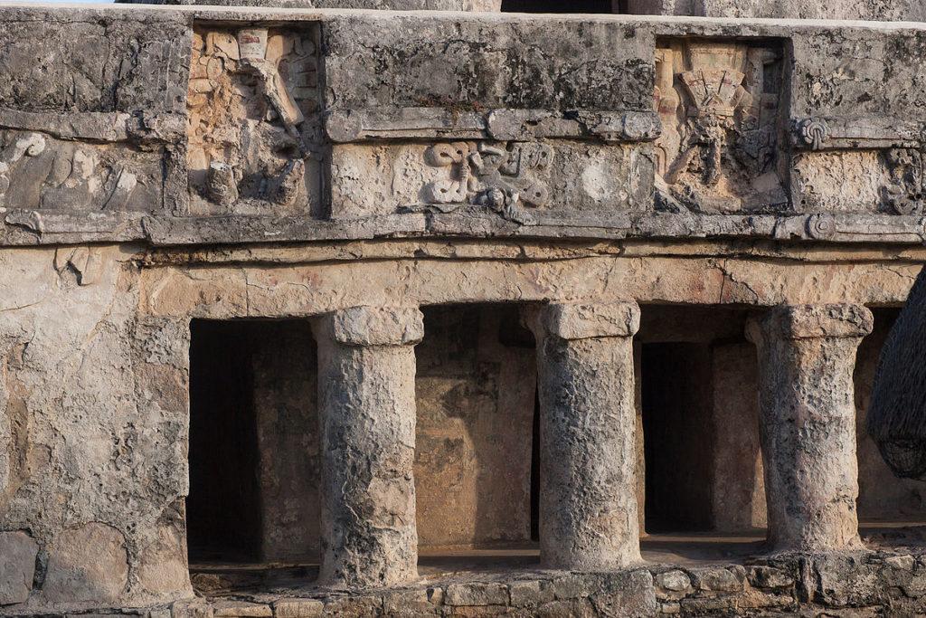 Temple of the Frescoes, TULUM
