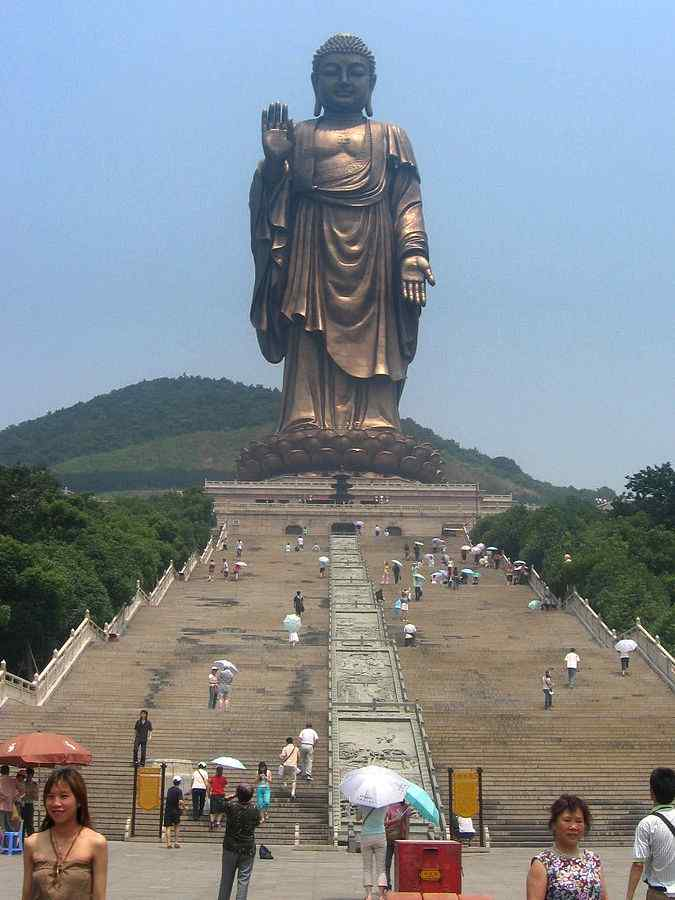 Grand Buddha at Ling Shan, Wuxi, China