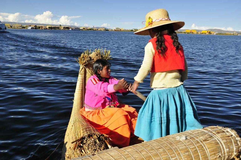 Lake Titicaca, Peru and Bolivia