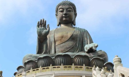 Tian Tan Buddha Statue, Hong Kong, China