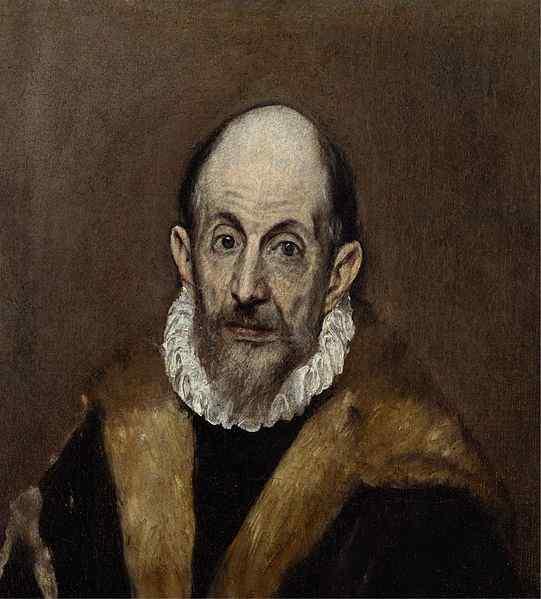 "El Greco – ""Portrait of a man"", 1595–1600"