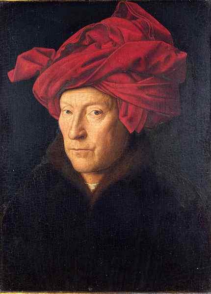 "Jan van Eyck – ""Portrait of a man"", 1433"