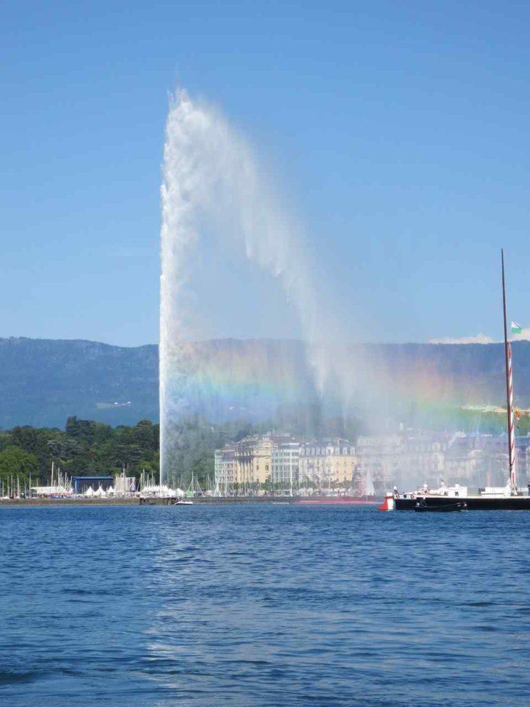 Jet D'Eau Fountain