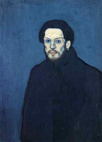 """Pablo Picasso – """"Self-portrait"""", 1901"""