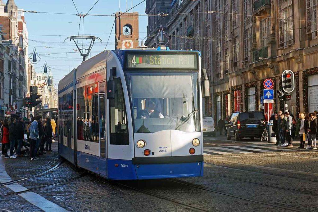 Amsterdam's Tram