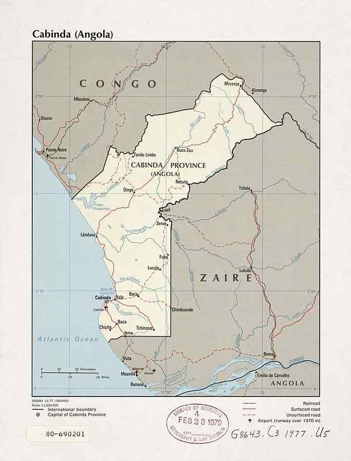 Cabinda, Angola