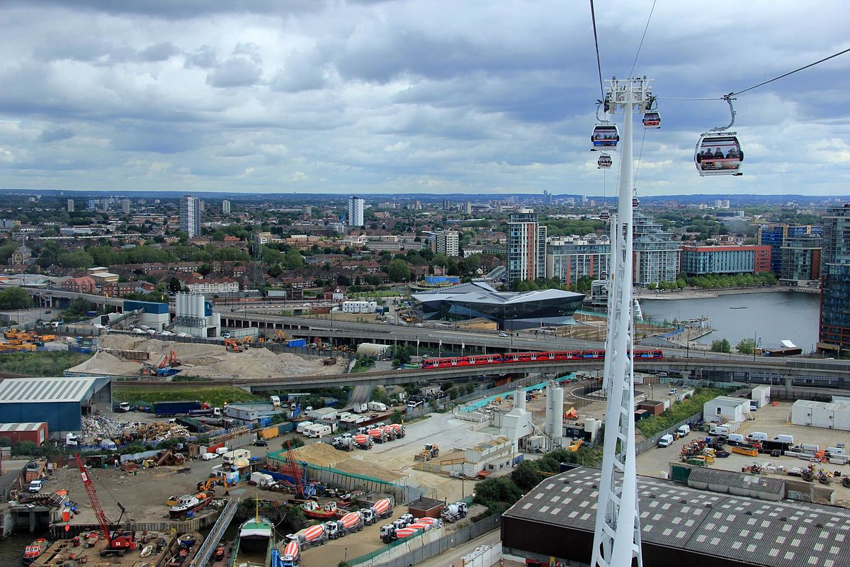 Emirates Air Line Aerial Lift, U.K