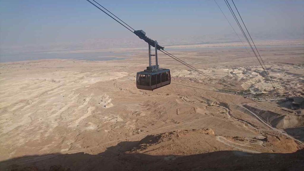 Masada Aerial Lift, Israel