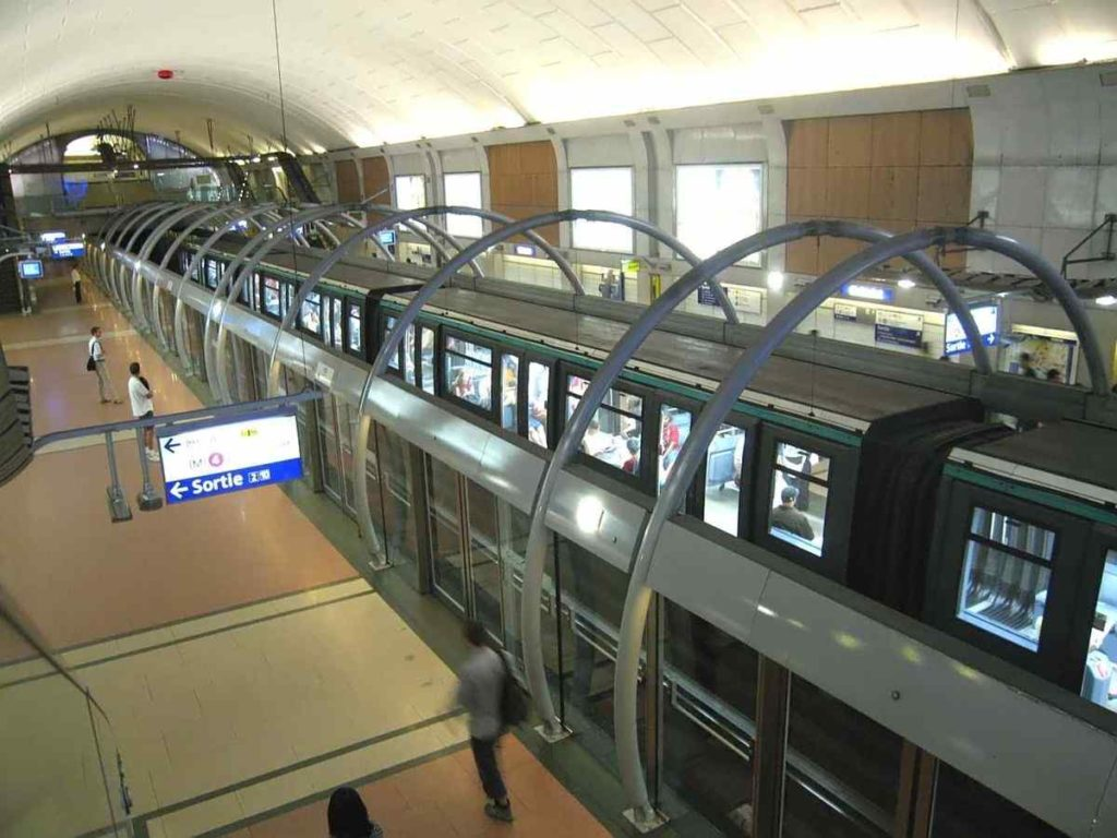Paris Metro system, France